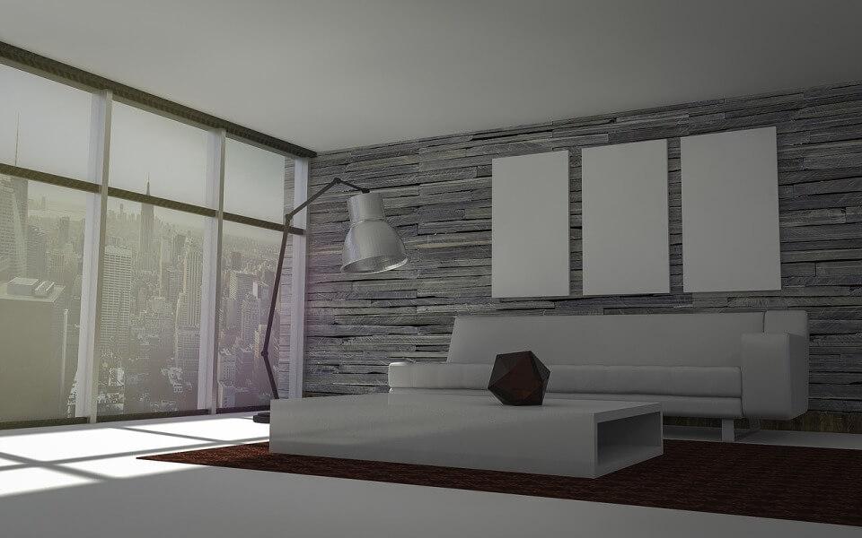 Абсолютный минимализм в квартире