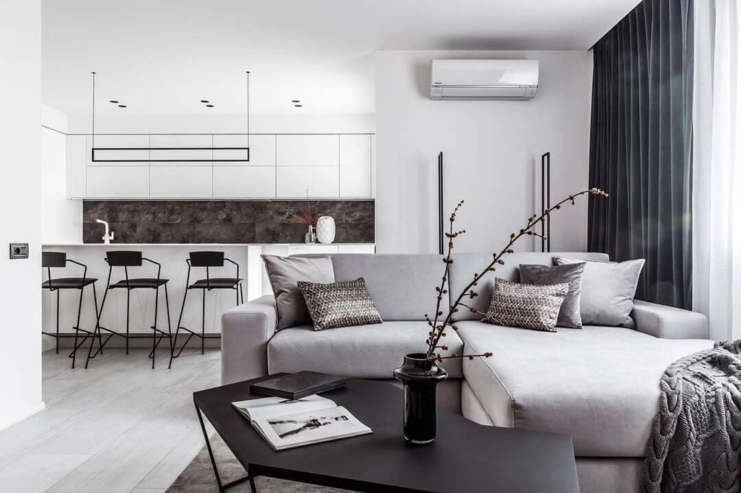 Декор в интерьере в стиле минимализм