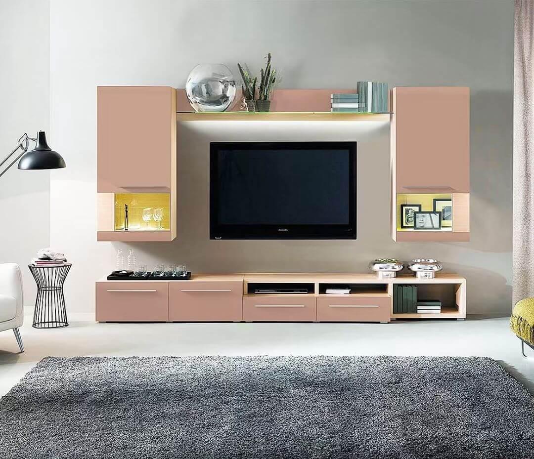 Модульная мебель в современной гостиной