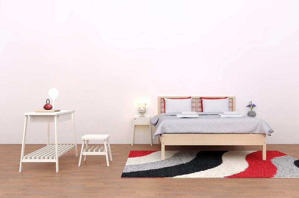 Текстиль в интерьере в стиле минимализм