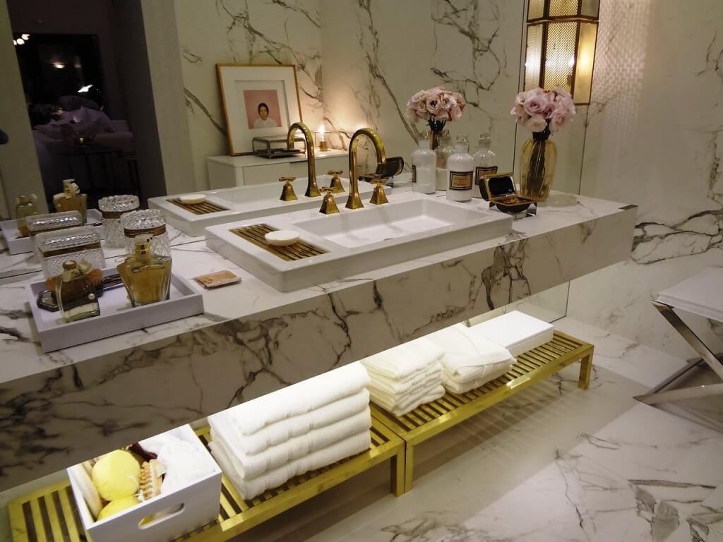 сантехника в ванную в ретро стиле