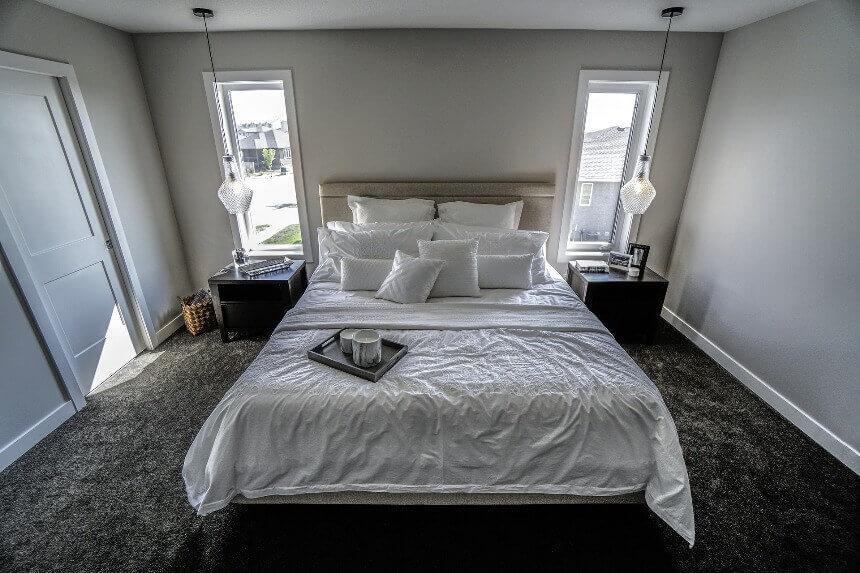 ковролин в маленькой спальне