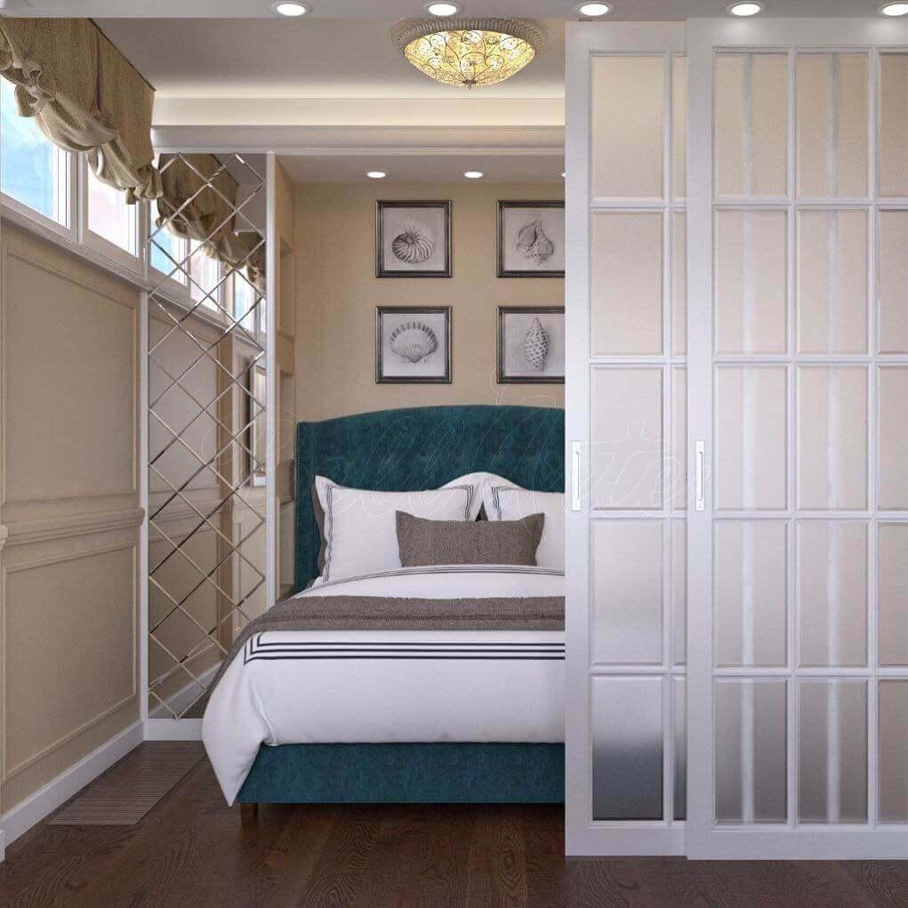 перепланировка маленькой спальни