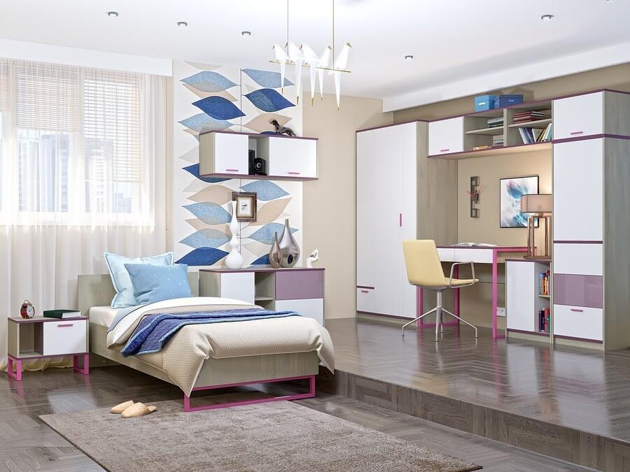модульная мебель в детскую