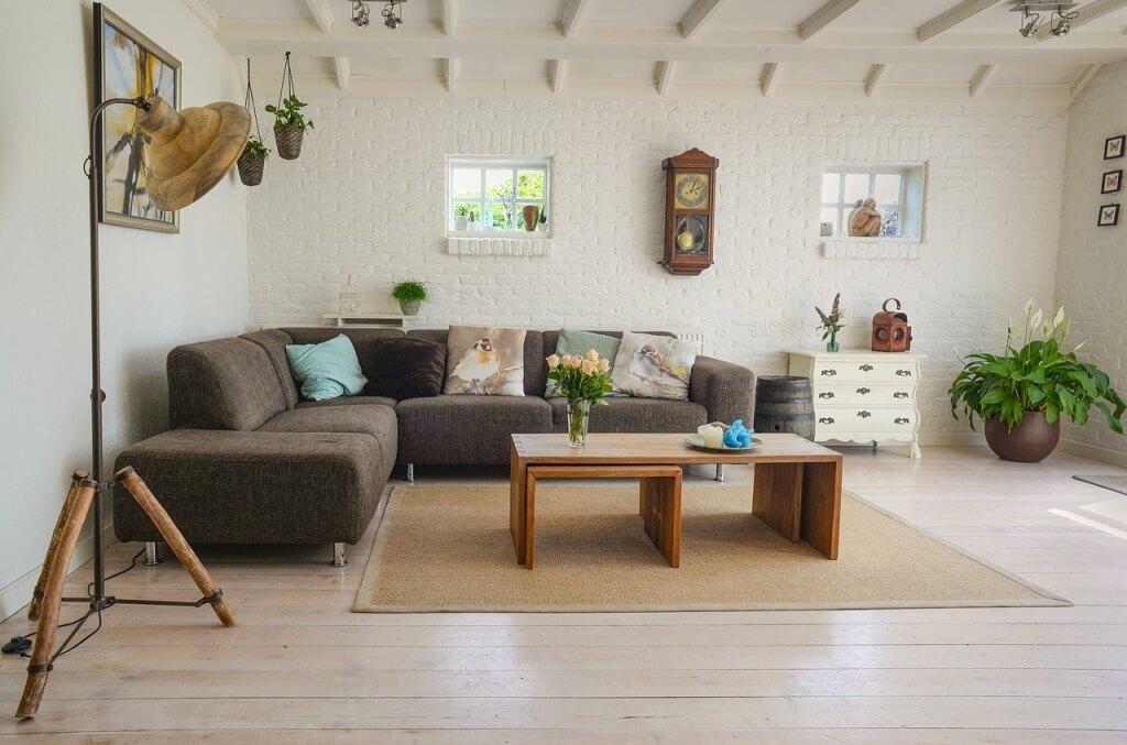 Скандинавский современный дизайн комнаты
