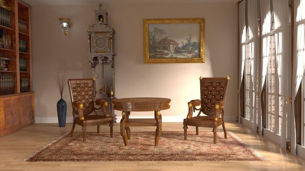 Классический стиль в интерьере помещения
