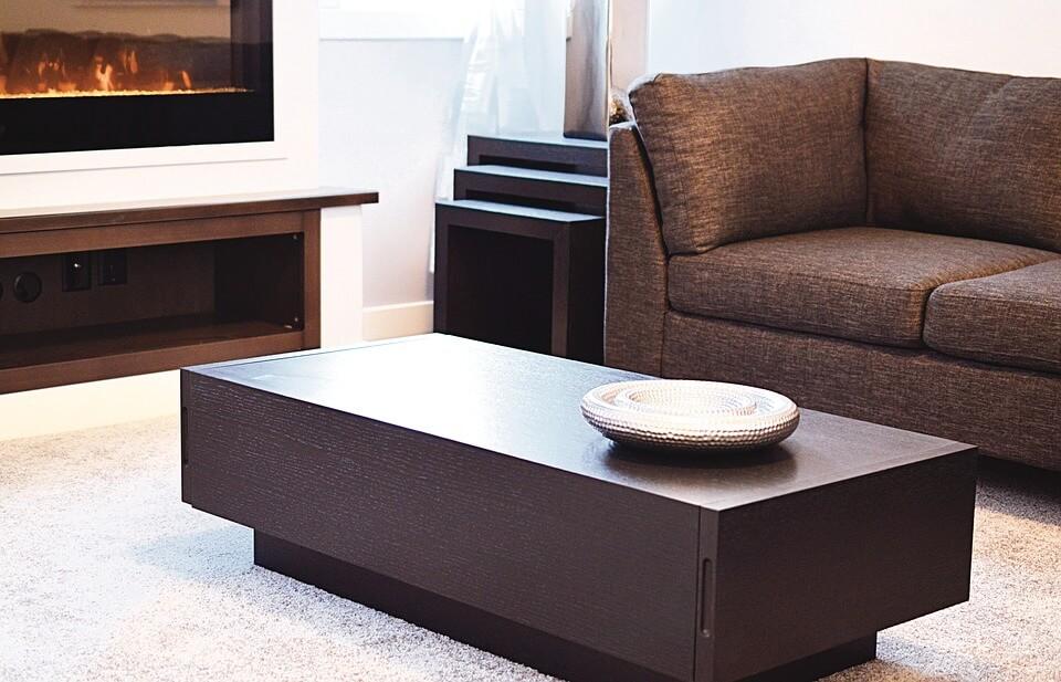 Геометричные формы мебели в стиле минимализм