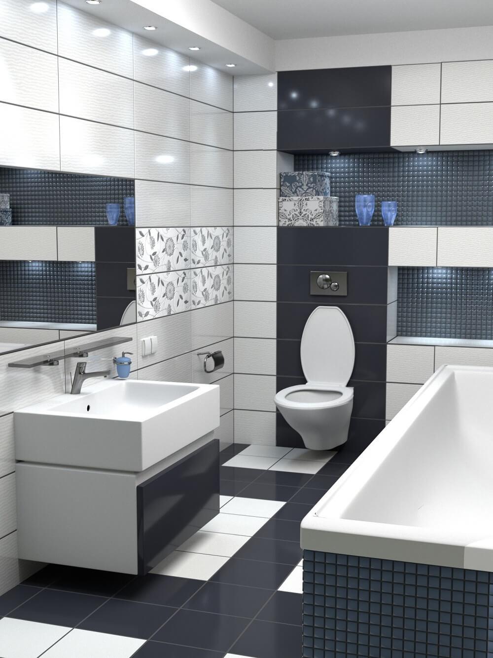Ванная комната в стиле минимализма