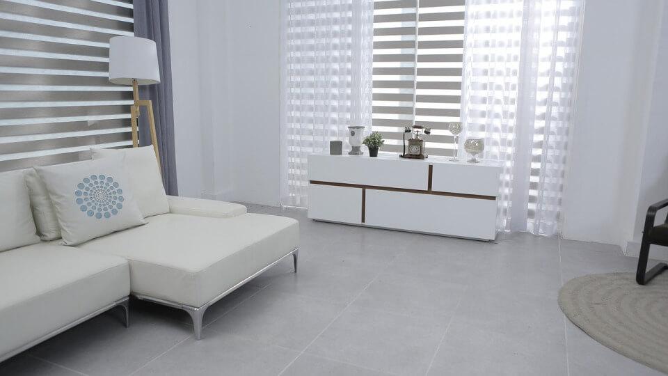 Белый цвет в интерьере помещения в стиле минимализм