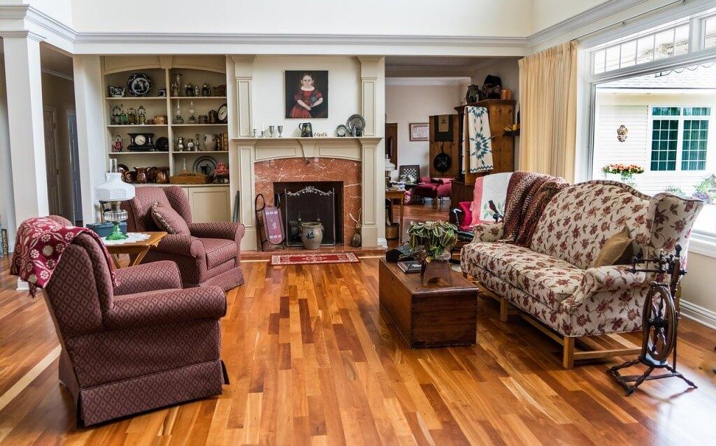 Интерьер дома в стиле американская классика