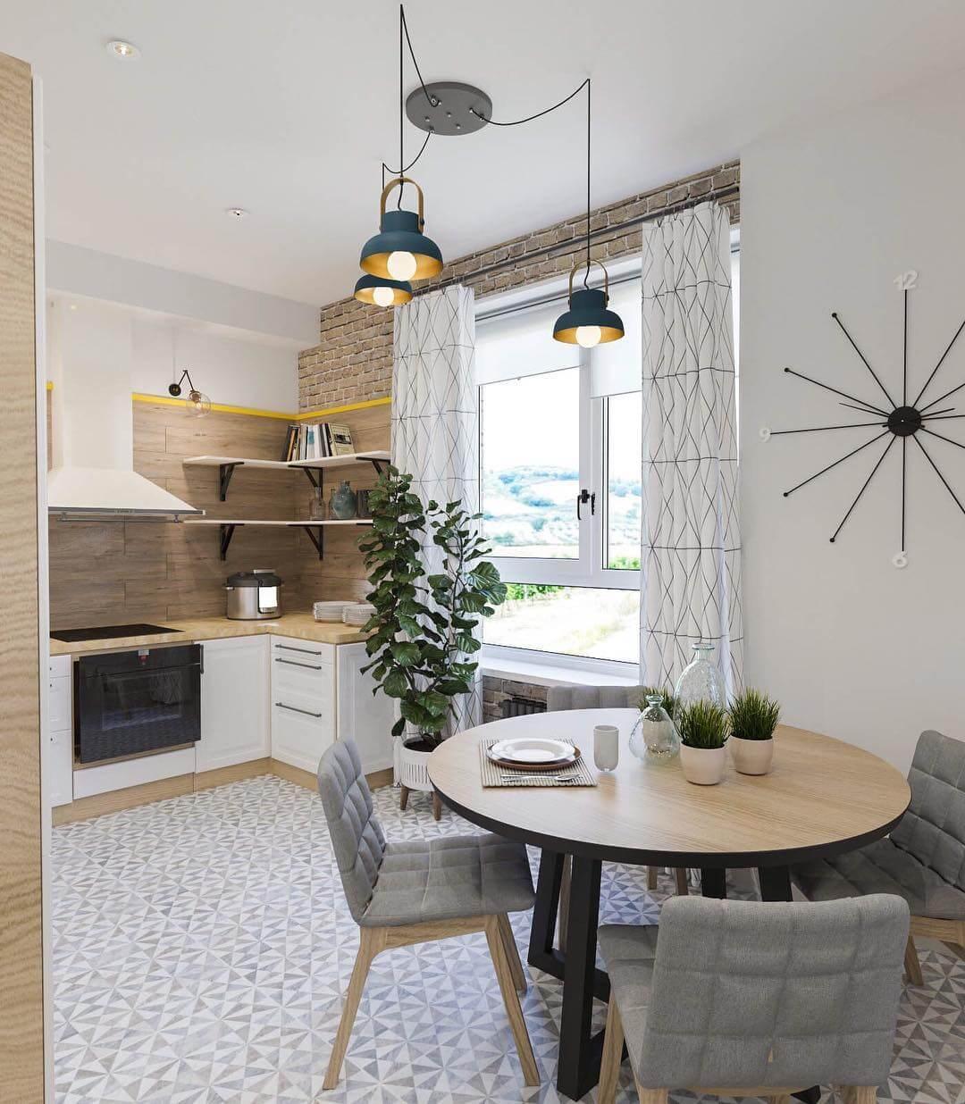 белые и бежевые оттенки в кухне