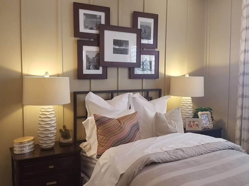 прикроватные тумбочки в комнате