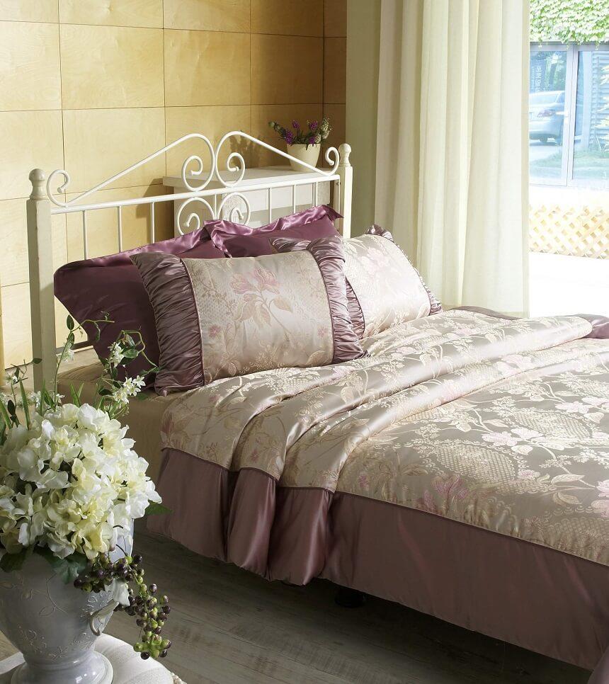 цвет интерьера в маленькой спальне