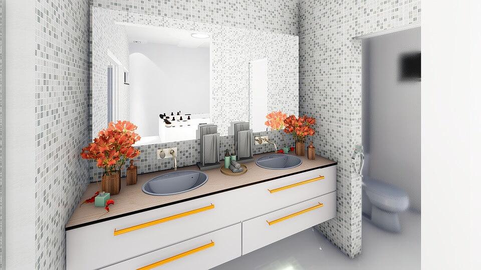 предметы мебели для ванной